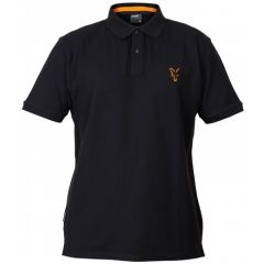 Tricou Fox Collection Polo Black&Orange, marime M