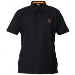 Tricou Fox Collection Polo Black&Orange, marime L