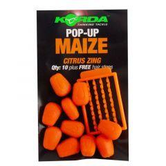 Porumb artificial Korda Pop-Up Maize, Citrus Zing