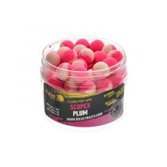 Boilies Select Baits Pop-up Two Tone Scopex-Plum 12mm