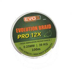 Fir textil EVOS Evolution Braid Pro 12X 0.30mm/48kg/100m