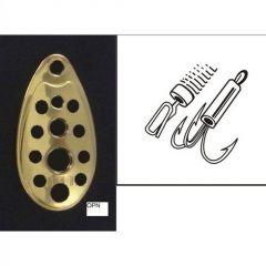 Lingura rotativa Rublex Turbo nr. 4, culoare OPN,7.0gr