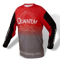 Tricou Quantum Jersey Red Grey XXXL