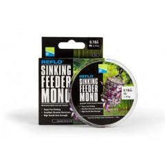 Fir monofilament Preston Reflo Sinking Feeder Mono 0.16mm/1.36kg/150m