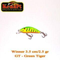 Vobler Kenart Winner F 3.5cm, culoare Green Tiger