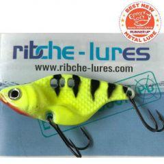 Cicada Ribche Lures Rib 1 4.5cm/8g, culoare Black Yellow