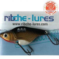 Cicada Ribche Lures Rib 1 4.5cm/8g, culoare Bronze White Belly