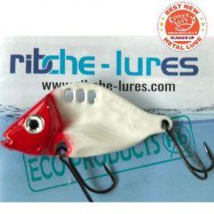 Cicada Ribche Lures Rib 3 5cm/16g, culoare Red Head White
