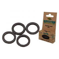 Anouri Kryston Black Rig Rings - Medium