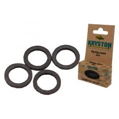 Anouri Kryston Black Rig Rings - Large