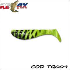Shad Relax Kopyto Tiger 6.2cm, culoare 009 - 10buc/plic