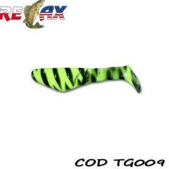 Shad Relax Kopyto Tiger 5cm, culoare 009 - 15buc/plic