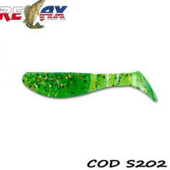 Shad Relax Kopyto Standard 7.5cm, culoare 202 - 10buc/plic