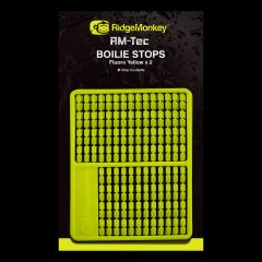 Stopper Ridge Monkey RM-Tec Boilie Stops - Fluo Yellow
