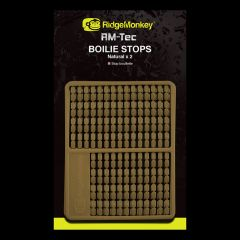 Stopper Ridge Monkey RM-Tec Boilie Stops - Natural Beige