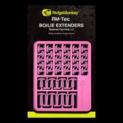 Stopper Ridge Monkey RM-Tec Boilie Hair Extenders - Washed Out Pink