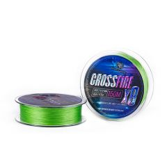 Fir textil RTB Crossfire X8 Lime Green 0.155mm/15lb/150m