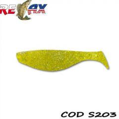 Shad Relax Aqua Standard 9cm, culoare 203 - 10buc/plic