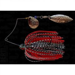 Bertilure Spinnerbait Shallow Killer  Colorado-Salcie, 7g, Culoare White/Black - Red