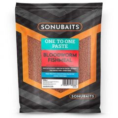Pasta Sonubaits One To One Bloodworm Fishmeal 500g