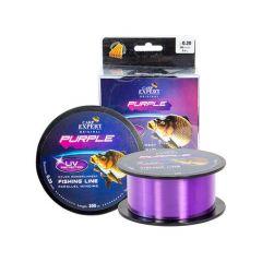 Fir monofilament Carp Expert UV Purple 0.30mm/12.5kg/300m