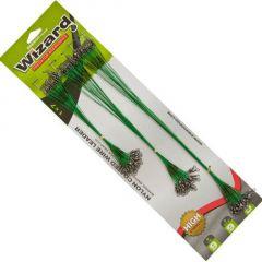Strune EnergoTeam Wizard Nylon Coated Wire Black 9kg 72buc