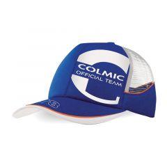 Sapca Colmic Blue Mesh Cap