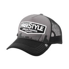 Spro Freestyle Trucker Grey Font