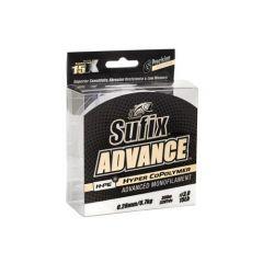 Fir monofilament Sufix Advance 0.18mm/3.4kg/300m/Clear