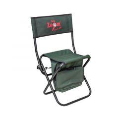 Scaun pescuit pliant Carp Zoom Shoulder Bag Chair + suport accesorii