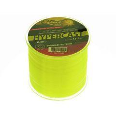 Fir monofilament Select Baits HyperCast Neon Yellow 0.30mm/7.2kg/500m
