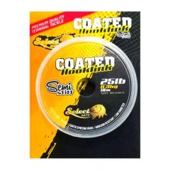 Fir textil Select Baits Coated Hooklink SemiStiff Silt Brown 25lb/10m