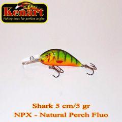 Vobler Kenart Shark F 5cm, culoare NPX