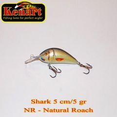 Vobler Kenart Shark F 5cm, culoare NR