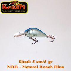 Vobler Kenart Shark F 5cm, culoare NRB