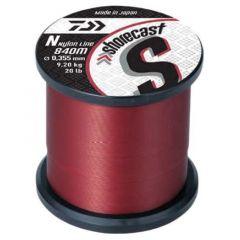 Fir monofilament Daiwa Shorecast Red 0.28mm/5.66kg/1540m