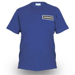 Tricou Shimano Royal Blue, marime XL