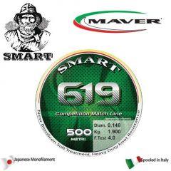 Fir monofilament Maver Smart 619 Competition 0,165mm/2,4kg/150m
