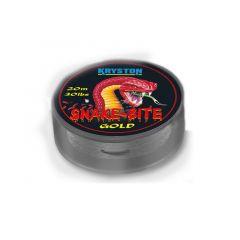 Fir textil Kryston Snakebite Hooklink Gold Brown 20lb/20m