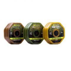 Fir textil Ridge Monkey Tec Soft Braid Hooklink 25LB Weed Green