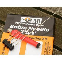 Set crosete + burghiu Solar Boilie Needle Plus - Red