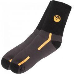 Sosete Guru Waterproof Black Socks, marime 44-46