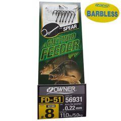 Montura Feeder Owner 56931 Spear BL Nr16/0.16mm