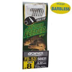 Montura Owner Feeder 56931 FD-53 Quick Stop BL Nr8/0.22mm