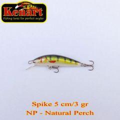 Vobler Kenart Spike F 5cm, culoare NP