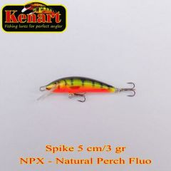 Vobler Kenart Spike F 5cm, culoare NPX
