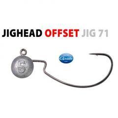 Jig Spro bila cu carlig Gamakatsu Offset Jig 71 nr.3/0, 5gr, plic 3buc.