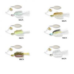 Spinnerbait Storm ST-1 Stainless (Pulse) 10cm, culoare 81GN