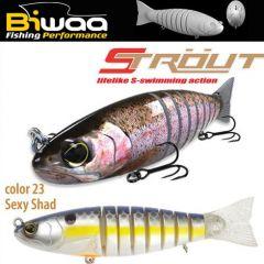 Swimbait Biwaa Strout 14cm/29g, culoare Sexy Shad