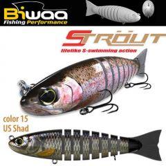 Swimbait Biwaa Strout 9cm/8g, culoare US Shad